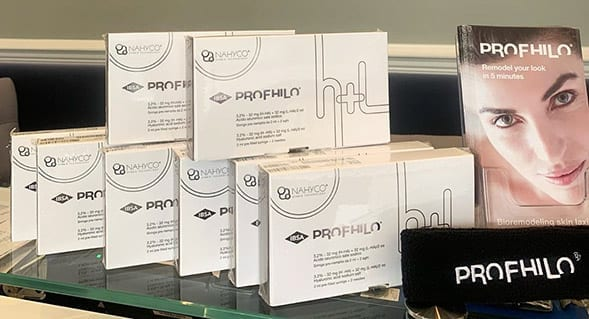 Profhilo injections kit Hyaluronic acid